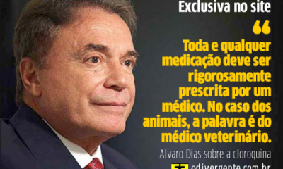 Exclusiva com Alvaro Dias
